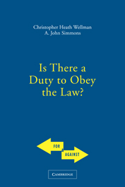 Is There a Duty to Obey the Law?