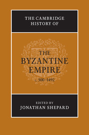 The Cambridge History of the Byzantine Empire c.500–1492