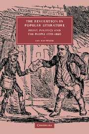 The Revolution in Popular Literature