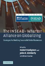 The INSEAD-Wharton Alliance on Globalizing