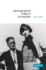 James Joyce and the Problem of Psychoanalysis