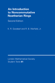 An Introduction to Noncommutative Noetherian Rings