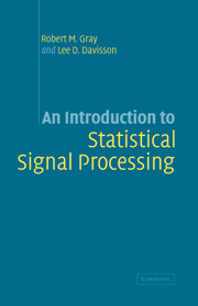 An Introduction to Statistical Signal Processing
