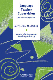 Language teacher supervision by kathleen m bailey a case based approach fandeluxe Choice Image