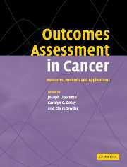 Outcomes Assessment in Cancer