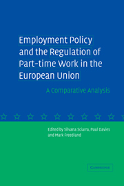 Employment Policy and the Regulation of Part-time Work in the European Union
