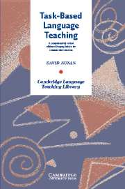 Task-Based Language Teaching