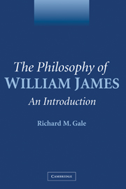 The Philosophy of William James