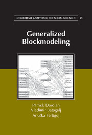Generalized Blockmodeling