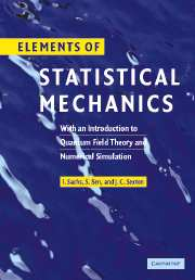 Elements of Statistical Mechanics