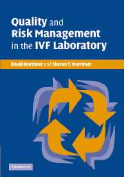 Quality and Risk Management in the IVF Laboratory