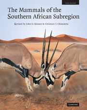 The Mammals of the Southern African Sub-region