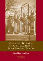 Classical Rhetoric and the Visual Arts in Early Modern Europe