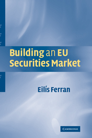 Building an EU Securities Market