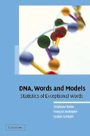 DNA, Words and Models