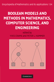 Boolean Models and Methods in Mathematics, Computer Science, and Engineering