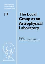 The Local Group as an Astrophysical Laboratory