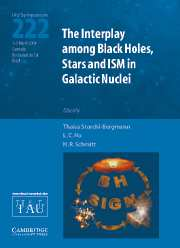 The Interplay among Black Holes, Stars and ISM in Galactic Nuclei (IAU S222)