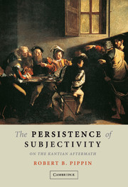 The Persistence of Subjectivity