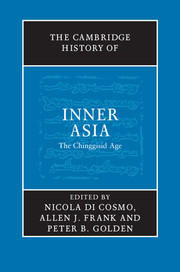 The Cambridge History of Inner Asia