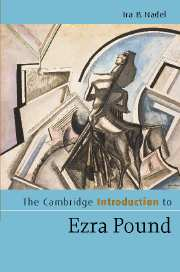 The Cambridge Introduction to Ezra Pound