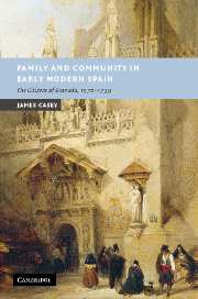 Family and Community in Early Modern Spain