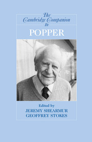 The Cambridge Companion to Popper