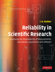 Reliability in Scientific Research