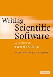 Writing Scientific Software