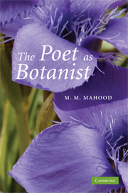 The Poet as Botanist