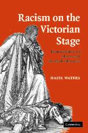 Racism on the Victorian Stage