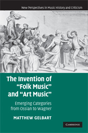The Invention of 'Folk Music' and 'Art Music'