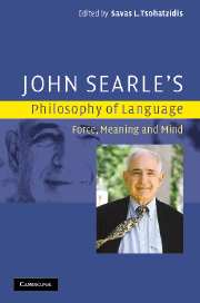 John Searle's Philosophy of Language