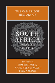 Cambridge History of South Africa