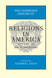 The Cambridge History of Religions in America