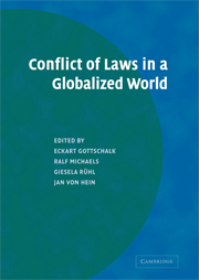 Conflict of Laws in a Globalized World