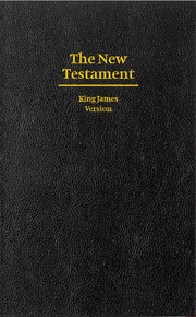 KJV Giant Print New Testament, KJ600:N