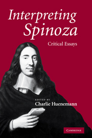 Interpreting Spinoza