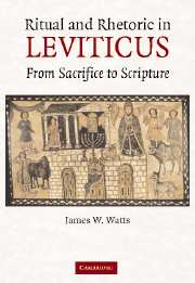 Ritual and Rhetoric in Leviticus