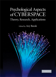 Psychological Aspects of Cyberspace