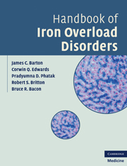 Handbook of Iron Overload Disorders