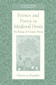 Science and Poetry in Medieval Persia