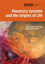 Planetary Systems and the Origins of Life