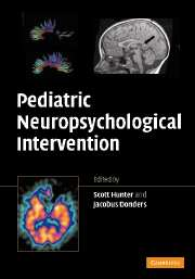 Pediatric Neuropsychological Intervention