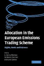 Allocation in the European Emissions Trading Scheme