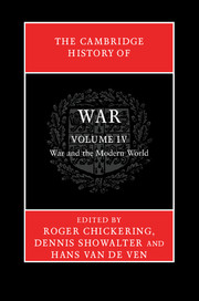 The Cambridge History of War