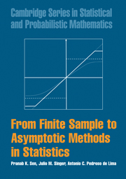 From Finite Sample to Asymptotic Methods in Statistics