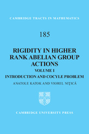 Rigidity in Higher Rank Abelian Group Actions