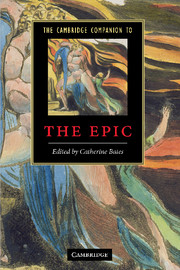 The Cambridge Companion to the Epic