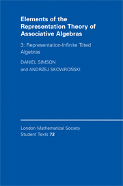 Elements of the Representation Theory of Associative Algebras